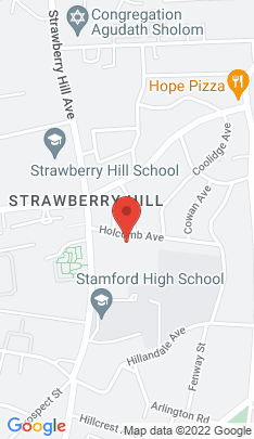 Map of Multi Family Home on 33 Holcomb Avenue,Stamford, CT