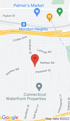 Map of Single Family Home on 74 Gardiner Street,Darien, CT