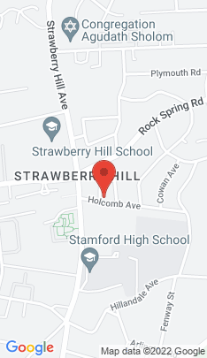 Map of Single Family Home on 26 Holcomb Avenue,Stamford, CT