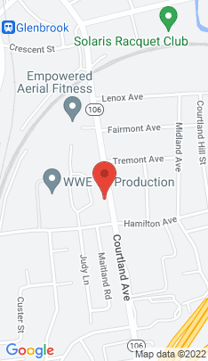 Map of Single Family Home on 194 Courtland Avenue,Stamford, CT