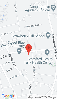 Map of Multi Family Home on 83a Morgan Street,Stamford, CT