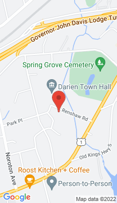 Map of Single Family Home on 5 Renshaw Road,Darien, CT