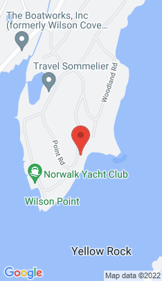 Map of Luxury Single Family Home on 22 Point Road,Norwalk, CT