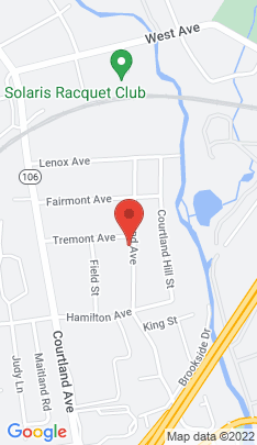 Map of Single Family Home on 73 Tremont Avenue,Stamford, CT