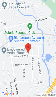 Map of Single Family Home on 70 Fairmont Avenue,Stamford, CT