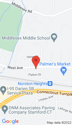 Map of Single Family Home on 307 West Avenue,Darien, CT
