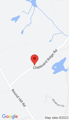 Map of Luxury Single Family Home on 203 Clapboard Ridge Road,Greenwich, CT