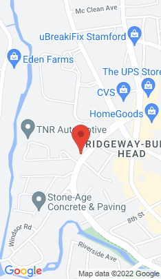 Map of Single Family Home on 61 Cold Spring Road,Stamford, CT