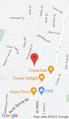 Map of Condo Home on 71 Pine Hill Avenue,Stamford, CT