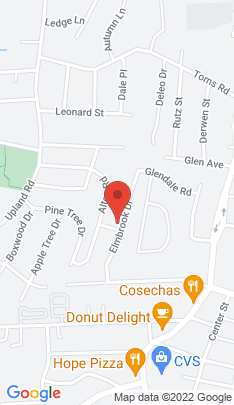 Map of Single Family Home on 56 Elmbrook Drive,Stamford, CT