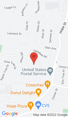 Map of Single Family Home on 46 Glendale Circle,Stamford, CT