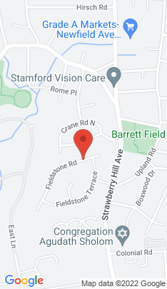 Map of Single Family Home on 25 Fieldstone Road,Stamford, CT