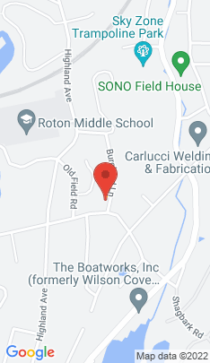Map of Single Family Home on 2 Burchard Lane,Norwalk, CT