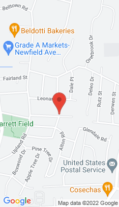 Map of Single Family Home on 54 Bellmere Avenue,Stamford, CT