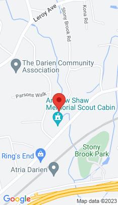 Map of Luxury Single Family Home on 26 Stony Brook Road,Darien, CT