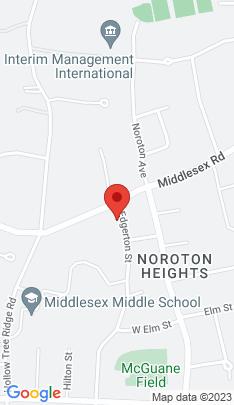 Map of Single Family Home on 6 Edgerton Street,Darien, CT