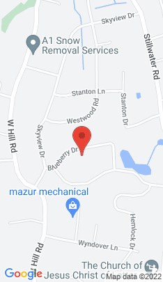 Map of Single Family Home on 81 Blueberry Drive,Stamford, CT