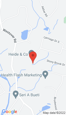 Map of Single Family Home on 121 Carriage Drive,Stamford, CT