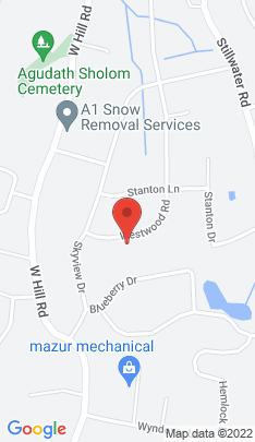 Map of Single Family Home on 37 Westwood Road,Stamford, CT