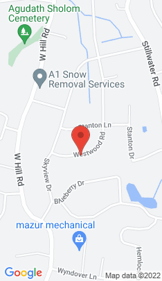Map of Residential Property on 37 Westwood Drive,Stamford, CT