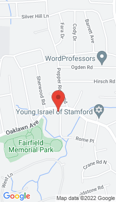 Map of single family home on 154 Oaklawn Avenue,Stamford, CT