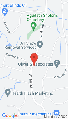 Map of Single Family Home on 447 Hill Road,Stamford, CT