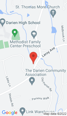 Map of Single Family Home on 305 Middlesex Road,Darien, CT