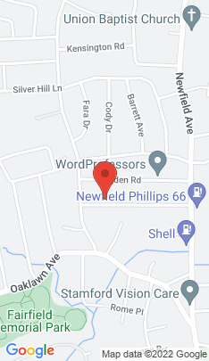 Map of Single Family Home on 89 Hirsch Road,Stamford, CT