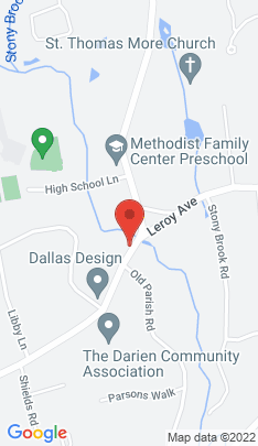 Map of Single Family Home on 315 Middlesex Road,Darien, CT
