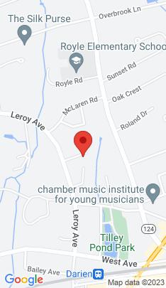Map of Single Family Home on 14 Partridge Lane,Darien, CT