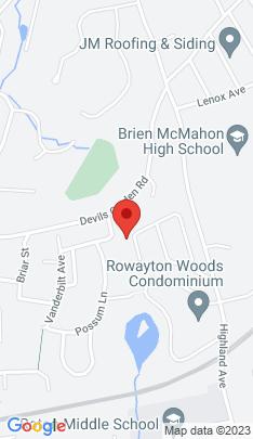 Map of Single Family Home on 28 Deepwood Lane,Norwalk, CT