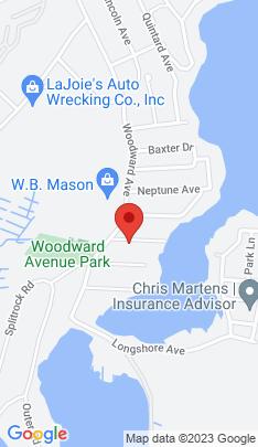 Map of Multi Family Home on 7 Burwell Street,Norwalk, CT