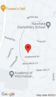 Map of Single Family Home on 34 Hazelwood Lane,Stamford, CT