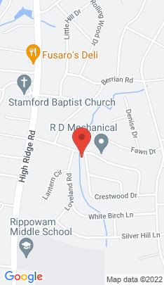 Map of Single Family Home on 140 Crestwood Drive,Stamford, CT