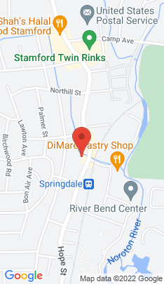 Map of Condo Home on 910 Hope Street,Stamford, CT