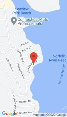Map of Single Family Home on 52 Shorefront Park,Norwalk, CT