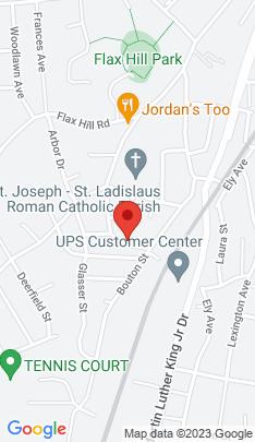 Map of multi family home on 26 Oak Street,Norwalk, CT