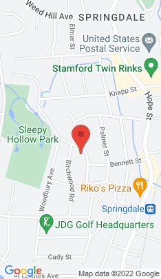 Map of Single Family Home on 44 Lawton Avenue,Stamford, CT