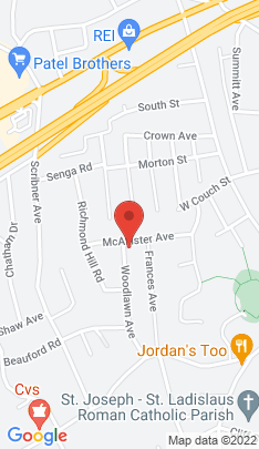 Map of Single Family Home on 36 Woodlawn Avenue,Norwalk, CT