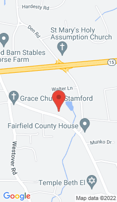 Map of Single Family Home on 489 Roxbury Road,Stamford, CT
