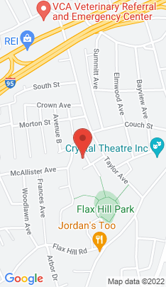Map of Single Family Home on 11 Harding Street,Norwalk, CT