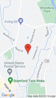 Map of Single Family Home on 103 Highview Avenue,Stamford, CT