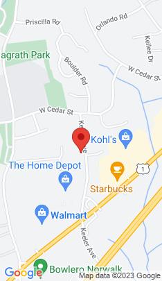 Map of Single Family Home on 107 Keeler Avenue,Norwalk, CT