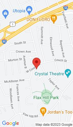 Map of Single Family Home on 4 Harding Street,Norwalk, CT
