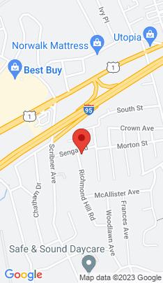 Map of Residential Property on 16 Senga Road,Norwalk, CT