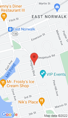 Map of Single Family Home on 29 Gregory Boulevard,Norwalk, CT