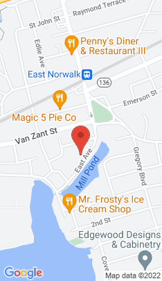 Map of multi family home on 272 East Avenue,Norwalk, CT
