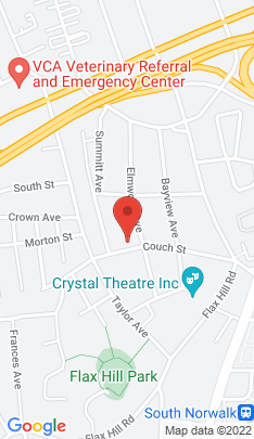 Map of Multi Family Home on 31 Couch Street,Norwalk, CT