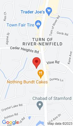 Map of Single Family Home on 27 Corn Cake Lane,Stamford, CT