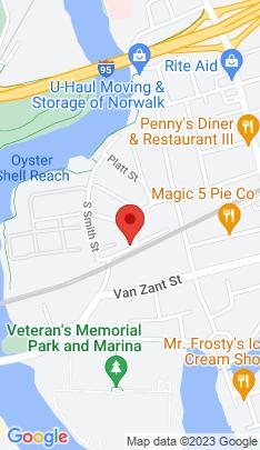 Map of Multi Family Home on 35 Fort Point Street,Norwalk, CT